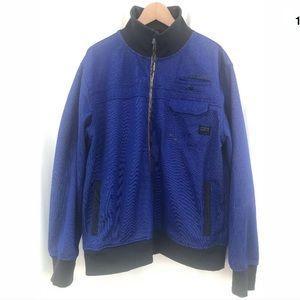 Jack & Jones blue lightweight jacket XXL flawed
